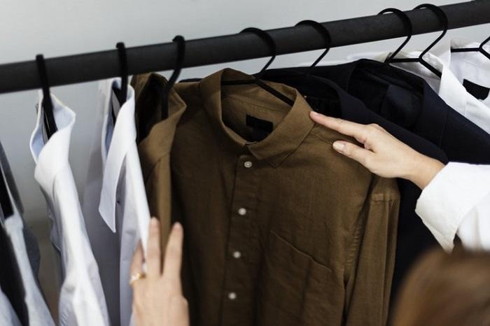 ilustrasi toko pakaian